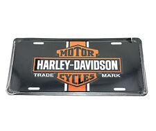 Harley Davidson Vintage Logo Licensed Aluminum Metal License Plate Sign Tag