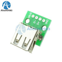 2/10PCS Female A Type USB to DIP 2.54MM PCB Board Adapter Converter for Arduino