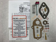 1937-49 CARB KIT CARTER W1 CHEVROLET  & CHEVY TRUCK 1BARREL FLAT STEM ACCEL PUMP