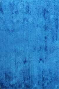 ROYAL BLUE Solid Modern Shaggy Oriental Area Rug Hand-tufted Home Decor 8x10