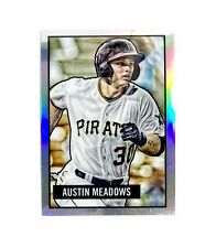 2017 Bowman Chrome Austin Meadows #19 Rookie Refractor Reproduction '51 Art Card
