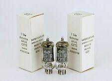 NOS 6AU6 EF94 LOW-NOISE CIFTE FRANCE MATCHED PAIR McINTOSH MR Sony C37A Altec 21