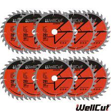 Wellcut EXTREME Lama TCT 160mm x 28T x 20mm foro per Festool TS55 Pack - 10