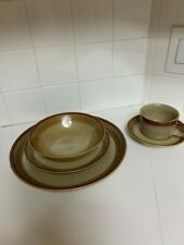Mikasa Country Cabin Dinnerware set with Serving Pieces