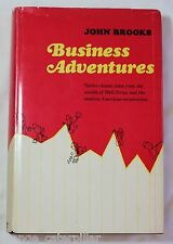 Business Adventures by John Brooks 1969 Scarce ~ Bill Gates Favorite Book