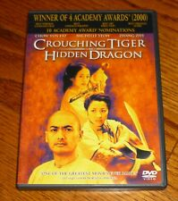 Crouching Tiger Hidden Dragon Dvd, Chow Yun Fat, Michelle Yeoh, used
