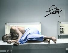 "SOPE DIRISU AUTOGRAPH SIGNED 10"" X 8 ""  PHOTO  (HUMANS) COA     55"