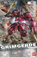 BANDAI 1/100 GRIMGERDE Plastic Model Kit Gundam Iron-Blooded Orphans NEW Japan