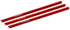 Lynx Blade 130 S Red CNC Aluminum Tail Boom - 3 Pack LX2557-7