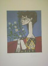 PABLO PICASSO NICE Lithograph Hand Signed in Pencil