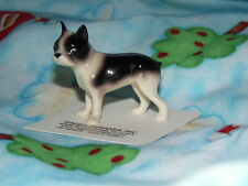 Hagen Renaker Dog Boston Terrier Figurine Miniature 00176 FREE SHIPPING New