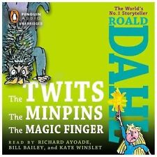 The Twits, the Minpins and the Magic Finger by Roald Dahl (2013, CD, Unabridged)