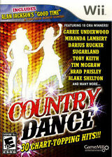 COUNTRY DANCE WII NEW! BLAKE SHELTON, CARRIE UNDERWOOD, TOBY,  JUST FAMILY FUN