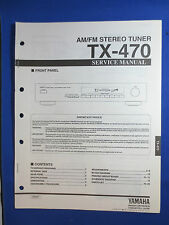 YAMAHA TX-470 TUNER SERVICE MANUAL ORIGINAL FACTORY ISSUE