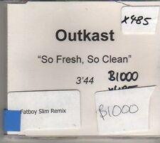 (CO897) Outkast, So Fresh So Clean - DJ CD