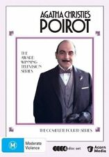 Agatha Christie - Poirot : Series 4 (DVD, 2008, 4-Disc Set) - Region Free