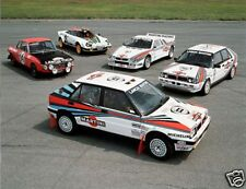 LANCIA DELTA RALLY GRAPHICS DECALS