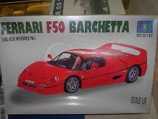 KIT LEE 1:24 AUTO IN PLASTICA DA COSTRUIRE FERRARI F50 BARCHETTA  COD. 01182