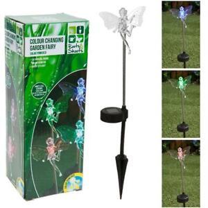 Colour Changing Fairy LED Solar Powered Garden Light