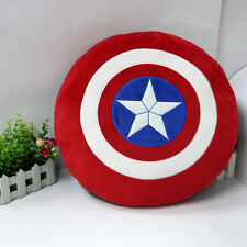 "The Avengers New Captain America Shield Cushion Plush Stuffed Pillow Gift 15"""