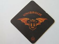 Beer Bar Coaster ~ Chambly, Quebec UNIBROUE Canadian Brewery ~ Drink Less Better