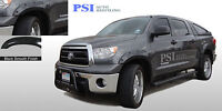 BLACK PAINTABLE Pocket Fender Flares 2007-2013 Fits Toyota Tundra Front Short