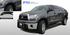 BLACK PAINTABLE Pocket Rivet Fender Flares 2007-2013 Toyota Tundra ; FRONT SHORT
