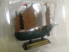 Junco Chino de Marco Polo 1271. BARCO VELERO MADERA navío Nautica