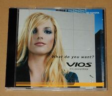 Britney Spears Toyota Vios Taiwan Promo Video CD RARE Glory Slumber Party