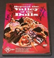 BEYOND THE VALLEY OF THE DOLLS SIGNED DVD X4 DOLLY READ CYNTHIA MYERS E GAVIN +