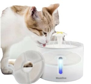 Automatic Cat Fountains, 2.4L Water Dispenser Drinking Fountain for Cats...