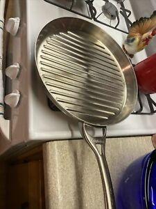 """Calphalon Stainless Steel 13"""" Grill/frying pan"""