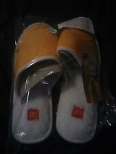 NEW Mcdelivery Ubereats McDonalds Sesame Seed Bun Slippers Shoes 2019 L XL Size
