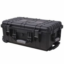 Storage Organizer Tool Box Equipment Hard Case Trolley Rolling Telescopic Handle