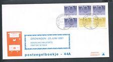 FDC met postzegelboekje PB 44a, Philato, blanco/open