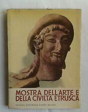 MOSTRA DEL'ARTE E DELLA CIVILTÀ ETRUSCA, Silvana editoriale, 1955 SECONDA EDIZIO
