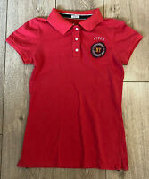 Women's Abercrombie & Fitch T Shirt Red Small Stretch Cotton Blend SLIM