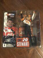 NIP 2003 NASCAR McFARLANE ACTION FIGURE-TONY STEWART #20 HOME DEPOT SERIES #1