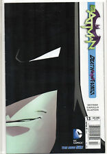 BATMAN #13 Death of the Family Sketch Capullo Newstand VARIANT 2012