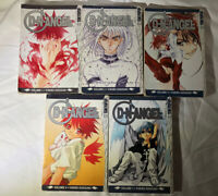 DNAngel D N Angel Volumes 1-4 & #7 Tokyopop Fantasy Romance Manga Lot English