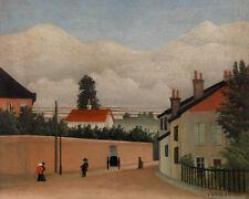 Outskirts of Paris by Henri Rousseau 60cm x 48cm Art Paper Print