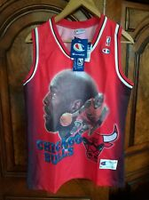Michael Jordan Chicago Bulls Jersey Shirt No.23 CHAMPION (Vintage) Rare New Tags