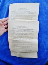 < 1943 SUBMARINE SCHOOL, US NAVY BASE, NEW LONDON, CT  3 Instructions, Blanchard
