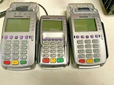 VeriFone Vx 520 Credit Card Machine Pair Ethernet Chip Reader and Pin Pad