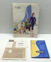 1955 Sabena Belgian Airline Brochure Pamphlet Lot  Pk2