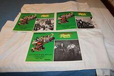 ROADIE-Set of 3 Lobby Cards  with Roy Orbison, Meat Loaf, Hank Williams Jr. & Al