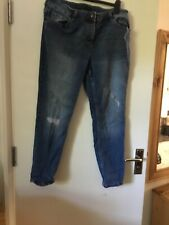 Ladies Jeans Size16 From Cigarette