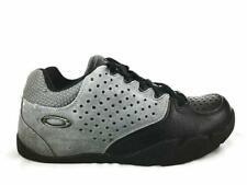 Oakley Mens Size 8.5 42 Black/Gray Leather Mountain Bike Shoes