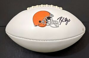 Baker Mayfield Cleveland Browns Autographed Signed Football COA