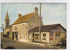CPSM 14710 COLLEVILLE SUR MER Route Port en Bessin Eglise café tabac Raymond